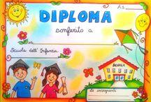 idee per l Diplomi nella Scuola dell'Infanzia