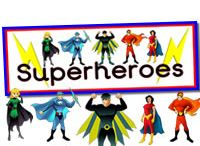 Superheroes Topic - Teaching Ideas - Activities - Art & Crafts for Children / These fun Superhero resources have been provided to help motivate boys in the classroom.