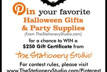 The Stationery Studio Halloween Contest / Ends OCt 11 2013 / by Mal
