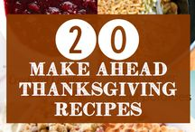 Thanksgiving On the Road / Celebrating Thanksgiving on the road? We've got some recipes that are RV friendly!