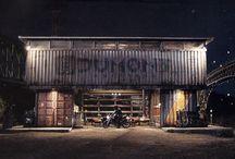 industrial chic interiors. / by brettVdesign - interior designer + blogger