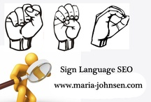 Sign Language SEO