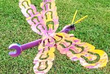 Garden Ideas / Flower sculpture art metal art flowers dragonflies furniture and more, Garden ideas upcycled by Raymond Guest Garden Art www.recycledsalvage.com
