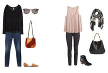 #outfits sets and capsule wardrobes