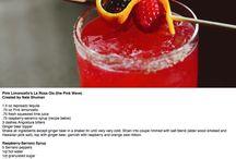 Pink Lemon Liqueur Recipes / Pink cocktail and recipes!