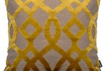 My Yellow Grey & White Room Board <3