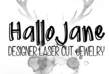 Hallo Jane / https://hellopretty.co.za/hallo-jane  Authentic laser cut Bamboo jewelry South African Inspired♡