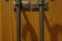 Ручки дверные кованые (handles)