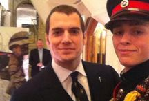 Henry Cavill at the Millies Awards 2016 / Henry Cavill attended the Millies Awards ceremony (The Sun's Military Awards) and presented the award to the Best Reservist in London on January 22, 2016.