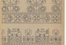 Wzory kwiatowe/Flower patterns