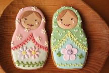Matryoshka cookies