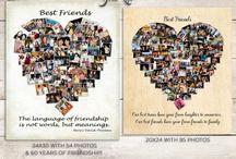 Best Friend Gifts / Best friend gifts, DIY gifts for best friend