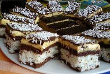 kokosove rezy s čokoladou