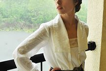 Early 20th century blouses