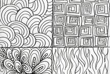 Zentanggle Drawing