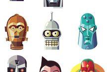 Dotio ar y robot - Bl 4 / Thema