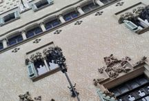 Barcelona  / I went to BCN in April and I took beautiful photos of it.