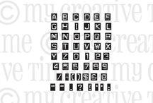 Label Font / Inspiration for this stamp set!