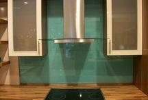 Glass Splashbacks Kitchen