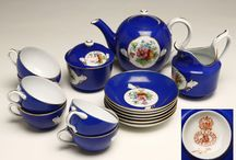 Time for tea / An assortment of beautiful coffee and tea services, sold by John Moran Auctioneers, Pasadena, CA