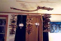 Inspirasjon til huset / lag din egen vri på hjemmet ditt. elv med små midler går det Ann å være kreativ :)