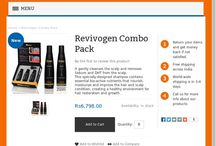Revivogen Combo Pack / Revivogen Scalp Therapy (3 month Supply) 1 Bio Cleansing Shampoo 1 Thickening Conditioner