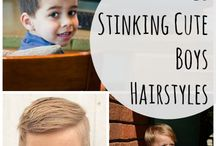 Stylish Cuts / Haircuts for kids little boys and little girls hair styles