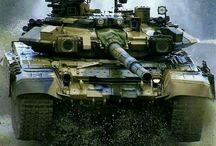 Russian T 90 Tank