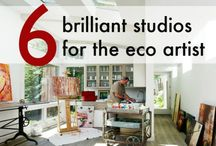 Artist studios / by Therese Dignard