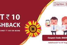 Raksha Bandhan Offer / Get extra cashback and discount offers on this special festival with happiness