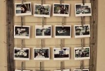 Washing line photo frame