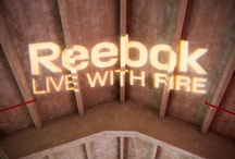 REEBOK. Live with fire