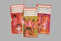 Throwback Airline Ticket Jackets / Ticket jackets from back in the day.