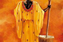 PINTURAS AFRICANA