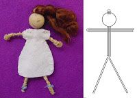 dolls PIPE CLEANER