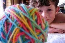 Knitting, what else?