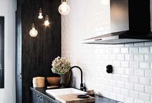Kitchen - Dark / Dark kitchen design inspiration. / by FLOFORM