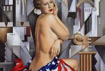 Le rêve américain / Quelques œuvres d'art mettant en scène la culture U.S.