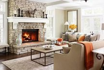 Fireplace and Mantle / by Heather Wilson Rucks
