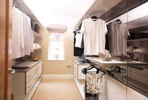 Šatny/wardrobes / Inspirace pro šatny a šatní skříně