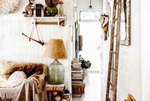 Decorar una casa de campo