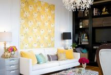 living room / by Stephanie Lundstrom-Feulner