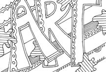 Word Art Coloring