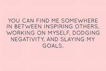 Women inspire each other.