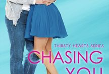 Chasing You - Now Available / Thirsty Hearts Book 4  Alexa Stevens doesn't do commitment. With all the exciting adventures to have in this world—especially of the masculine variety—why get tied down?  Soon, her old flame Adam Gadsby arrives in town to win her heart, and her new flame Graham Ryan heats up his pursuit—and her bed.  With two men chasing her, can Alexa make the right choice before it's too late?