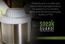 SneakGuard / SneakGuard™ goes above and beyond responsible storage. It solves the most important storage problems that parents, smokers, and retailers face. Get a product that is built to keep your supply fresh and out of harm's way!  Contact a representative today to inquire about our product features or to order your very own SneakGuard call 813-551-0133 or visit http://www.sneakguard.com/