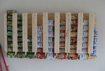food storage / by Rebecca Sitterlet