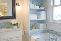 BATHROOM IDEAS / by Vicki Griffin