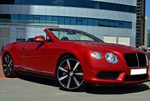 Bentley GTC Red