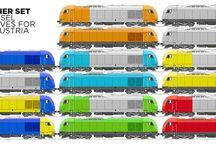 ♠ -=< Transport: Railway, StadtBahn(S-Bahn), U-Bahn, Metro, Trams >=- / #Railway, #StadtBahn(S-Bahn), UnderGroundBahn(U-Bahn ), StrassenBahn, Metro, Metro Transit, Trams, LightTrain, Rapid Transport